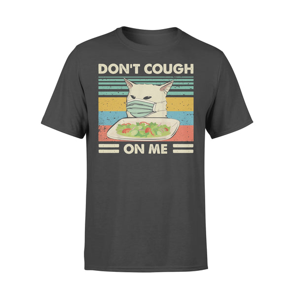 Don't Cough On Me Smudge Cat Anti Coronavirus Face Mask Shirt L By AllezyShirt