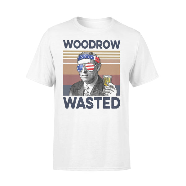 Indepence Day 4thh Of July Drink Beer Woodrow Wasted Vintage T-shirt L By AllezyShirt