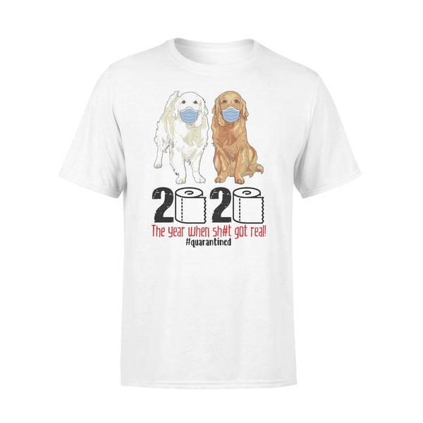 Golden 2020 The Year When Shit Got Real T-shirt L By AllezyShirt