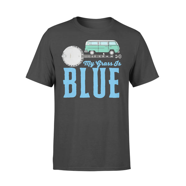 My Grass Is Blue Banjo T-Shirt L By AllezyShirt