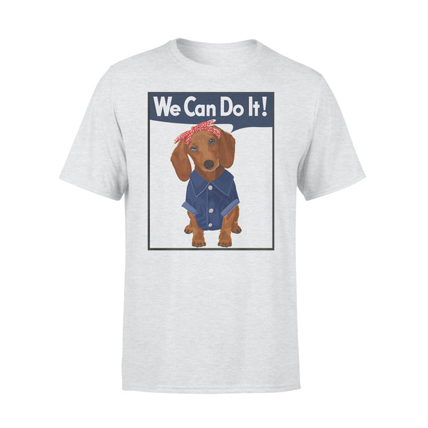 Dachshund We Can Do It Shirt XL By AllezyShirt