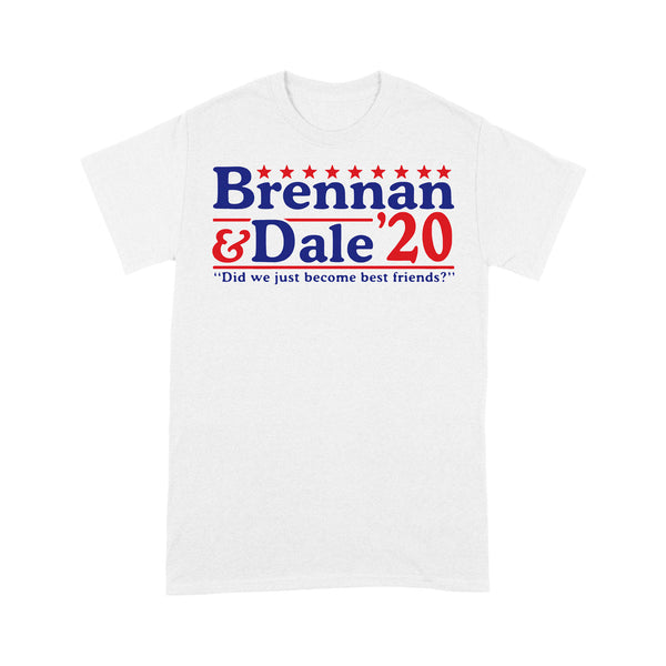Brennan And Dale '20 Did We Just Become Best Friends T-shirt L By AllezyShirt