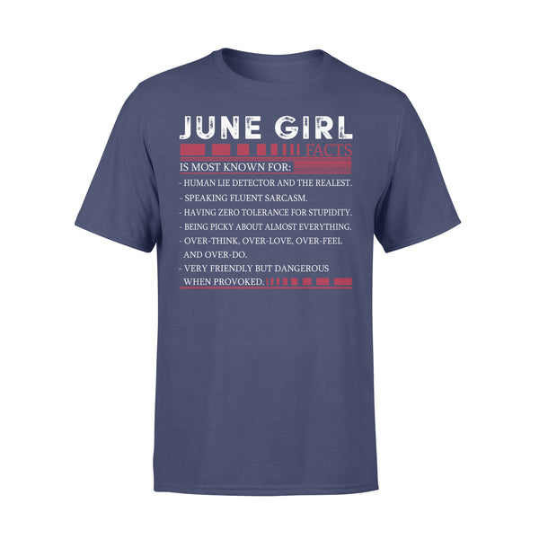 Best June Girl Facts Shirt XL By AllezyShirt