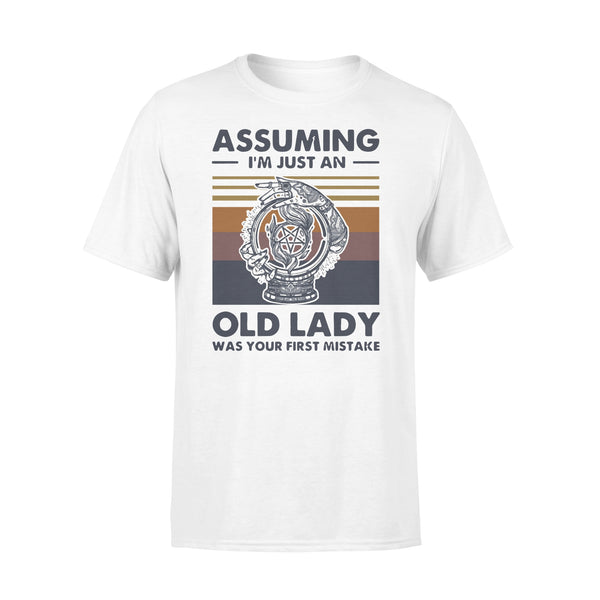 Witchcraft Assuming I'm Just An Old Lady Was Your First Mistake Vintage T-shirt L By AllezyShirt