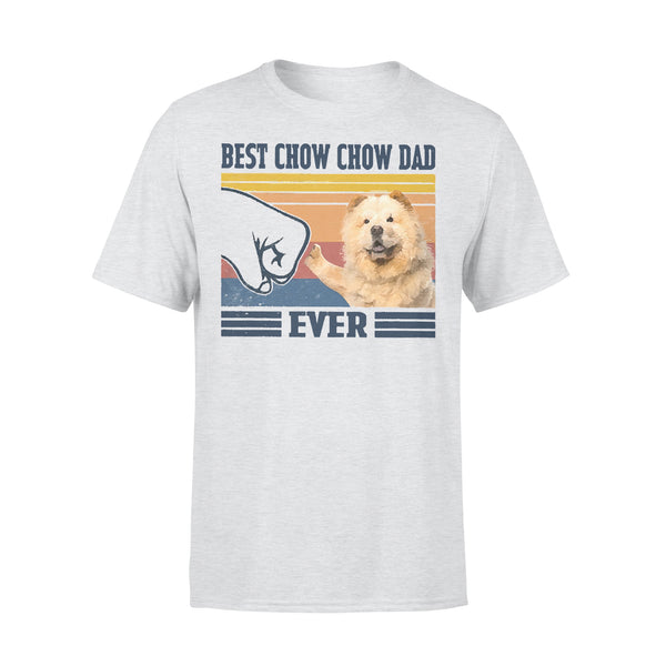 Father's Day Best Chow Chow Dad Ever T-shirt XL By AllezyShirt