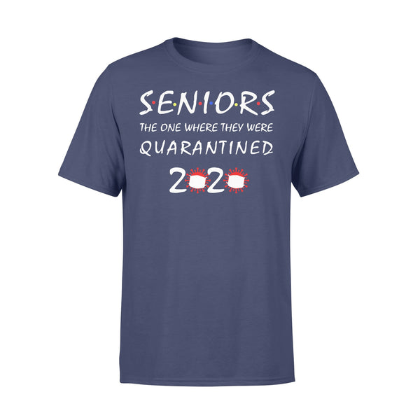 Seniors The One Where They Quarantined Shirt XL By AllezyShirt