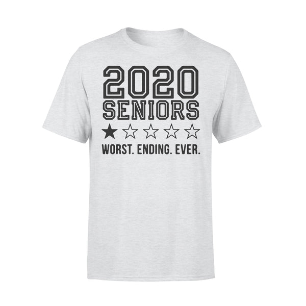2020 Seniors Worst Ending Ever T-Shirt XL By AllezyShirt