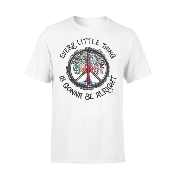 Every Little Thing Is Gonna Be Alright T-Shirt L By AllezyShirt