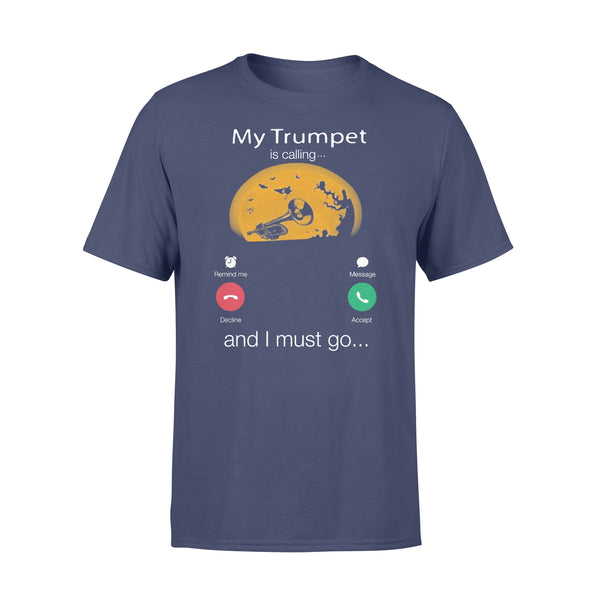 My Trumpet Is Calling And I Must Go Moon Halloween T-shirt XL By AllezyShirt