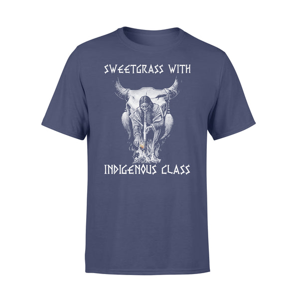 Sweetgrass With Indigenous Class T-shirt XL By AllezyShirt
