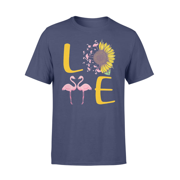 Love Flamingo Sunflower T-shirt XL By AllezyShirt