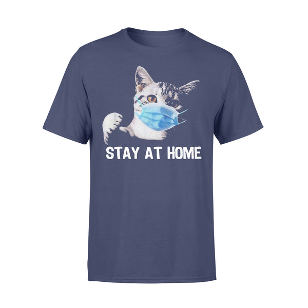 Cat Mask Stay At Home T-shirt XL By AllezyShirt