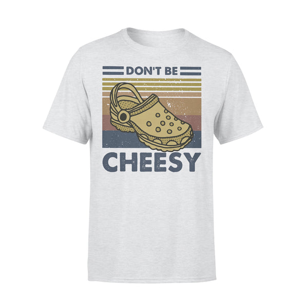 Don't Be Cheesy Crocs Vintage Retro T-shirt XL By AllezyShirt