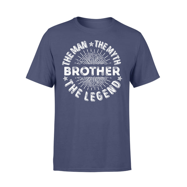 Brother The Man The Myth The Legend Star T-shirt XL By AllezyShirt