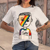 100% Gay Boy LGBT T-shirt S By AllezyShirt
