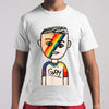 100% Gay Boy LGBT T-shirt M By AllezyShirt