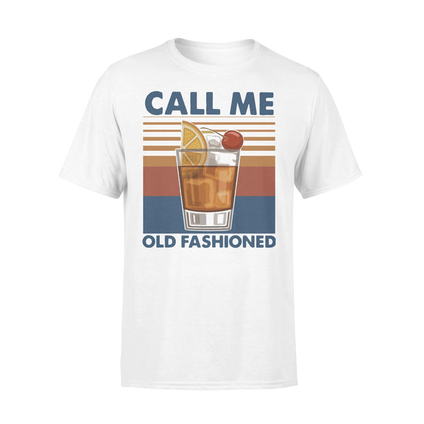 Vintage Cocktail Call Me Old Fashioned T-shirt L By AllezyShirt
