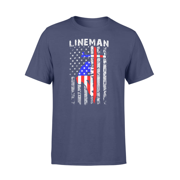 Lineman T-shirt XL By AllezyShirt