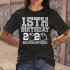 15Th Birthday 2020 Quarantine T-shirt M By AllezyShirt