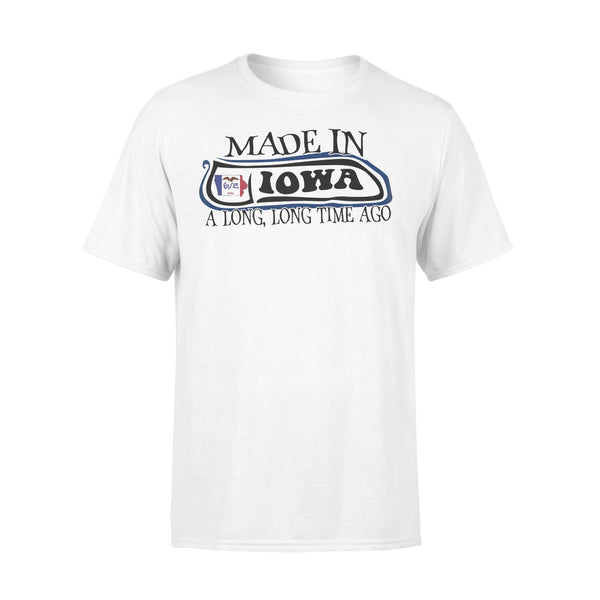 Made In Iowa A Long Long Time Ago Shirt L By AllezyShirt