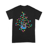 Guitar Christmas Light T-shirt S By AllezyShirt