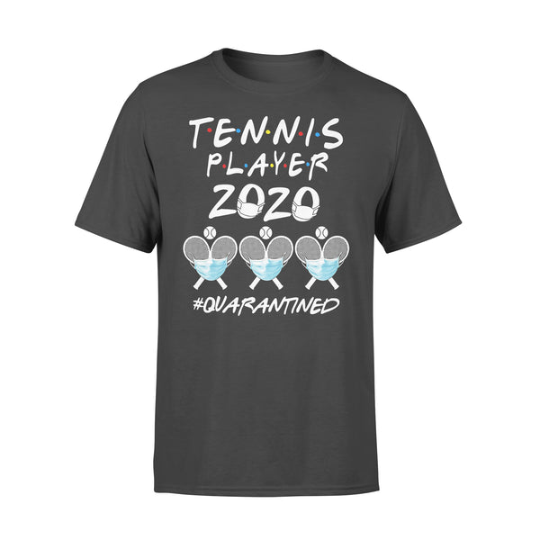 Tennis Player 2020 Quarantined Covid-19 L By AllezyShirt