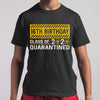 16Th Birthday Class Of 2020 Quarantined T-shirt S By AllezyShirt