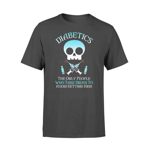 Skull Nurse Diabetics People Who Take Drug To Avoid Getting High T-shirt L By AllezyShirt