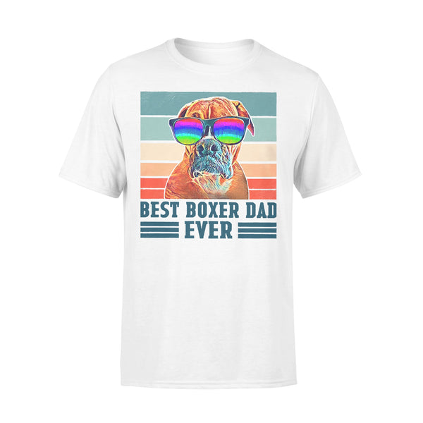 Father's Day Best Boxer Dad Ever T-shirt L By AllezyShirt