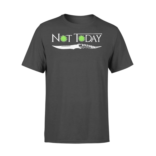 Coronavirus Not Today Knife T-shirt L By AllezyShirt
