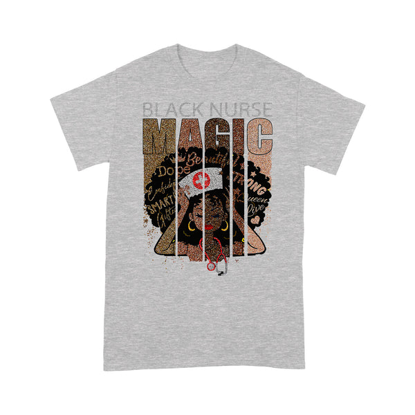 Black Nurse Magic Blm T-shirt XL By AllezyShirt
