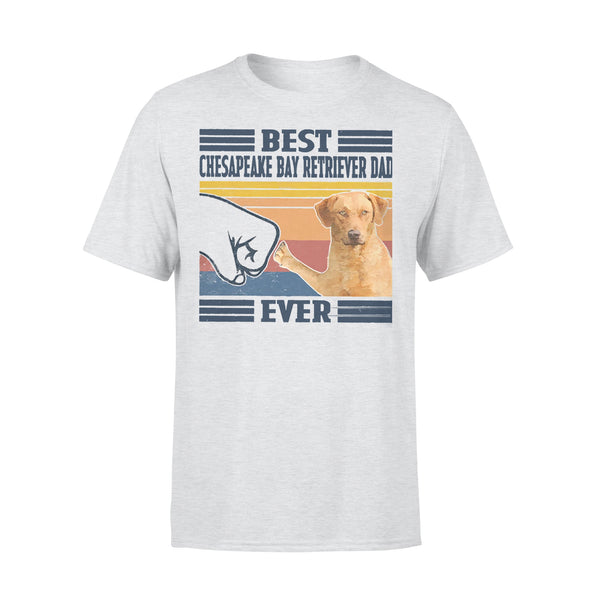 Father's Day Best Chesapeake Bay Retriever Dad Ever Vintage T-shirt XL By AllezyShirt