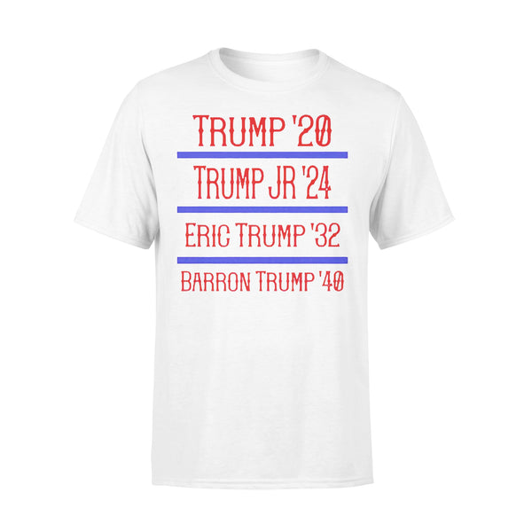 Trump Family '20 '24 '32 '40 T-shirt L By AllezyShirt