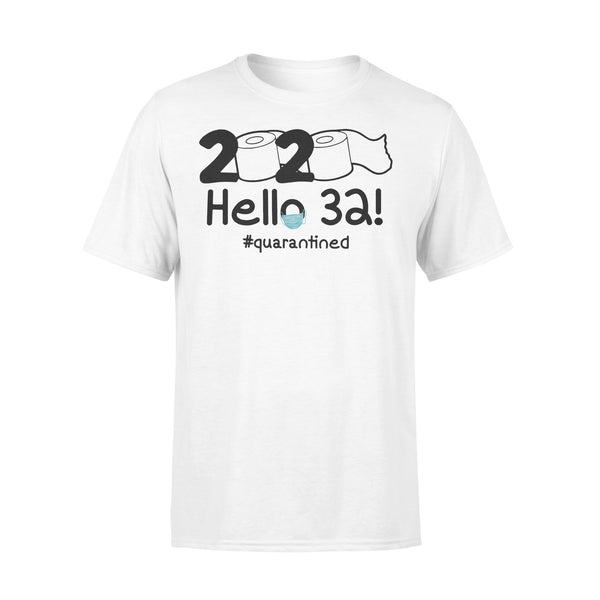 2020 Hello 32 #quarantined Shirt L By AllezyShirt