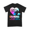 Autism It Takes A Special Grandma To Hear What A Grandson Cannot Say Heart T-shirt S By AllezyShirt