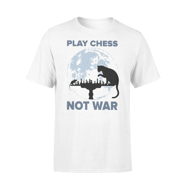 Play Chess Not War Cat Lovers T-shirt L By AllezyShirt
