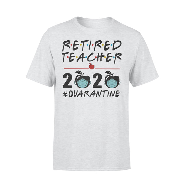 Retired Teacher 2020 Apple Quarantine Shirt XL By AllezyShirt