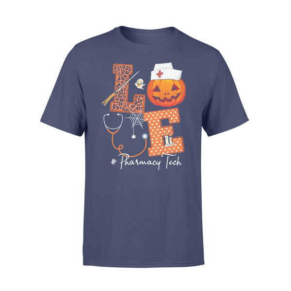 Halloween Pumpkin Love Pharmacy Tech T-shirt XL By AllezyShirt