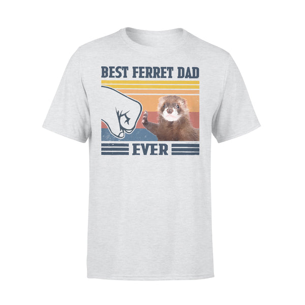 Father's Day Best Ferret Dad Ever Fathers Day Gift T-shirt XL By AllezyShirt