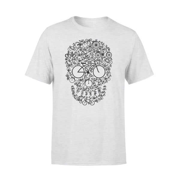 Bicycle Sugar Skull T-shirt XL By AllezyShirt