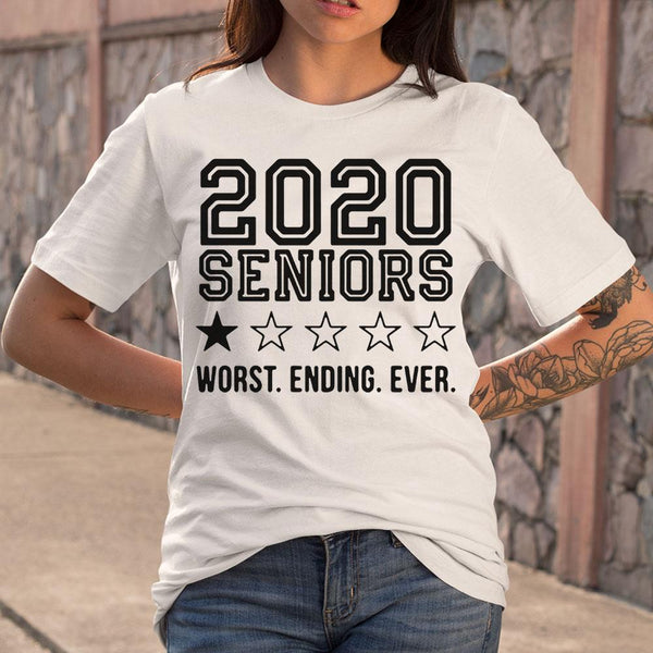 2020 Seniors Worst Ending Ever T-Shirt M By AllezyShirt