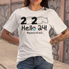 2020 Toilet Paper Hello 24 Quarantined Shirt M By AllezyShirt