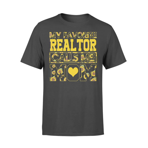 Sunflower My Favorite Realtor Calls Me Love Mom Shirt L By AllezyShirt