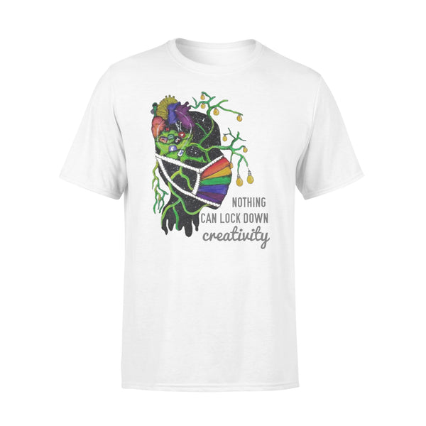 Corona Nothing Can Lock Down Creatinity Shirt L By AllezyShirt