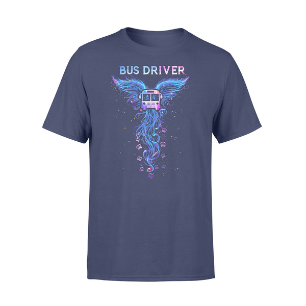 Bus Driver Phoenix Wings Colorful T-shirt XL By AllezyShirt