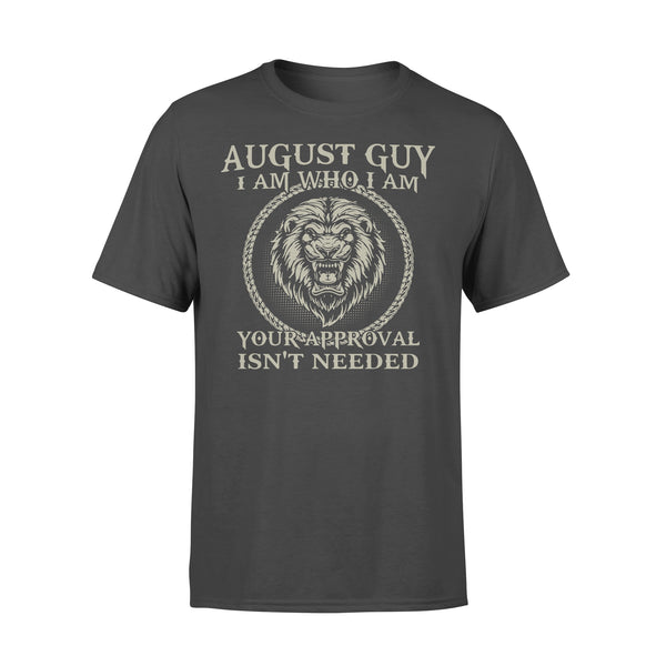 Lions August Guy I Am Who I Am Your Approval Isn't Needed T-shirt L By AllezyShirt