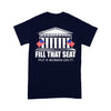 Fill That Seat Put A Woman On It Election T-shirt XL By AllezyShirt