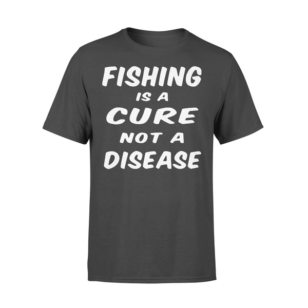 Fishing Is A Cure Not A Disease Shirt L By AllezyShirt