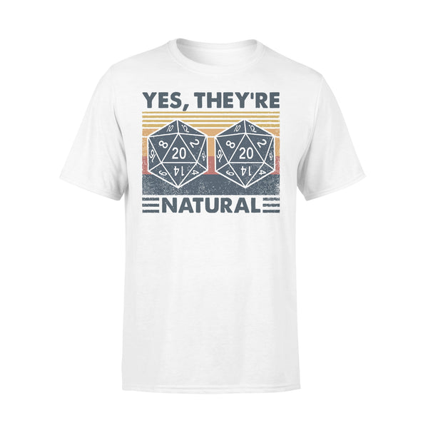 DM Yes They're Natural Math Vintage T-shirt L By AllezyShirt