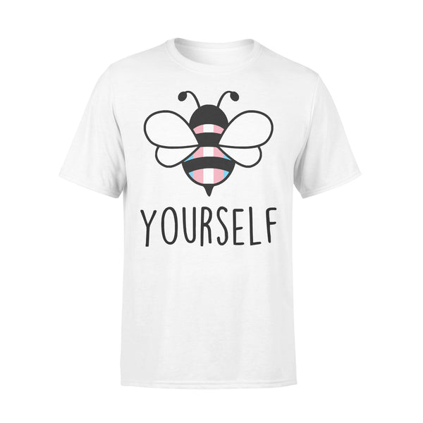 Bee YourSelf Transgender Bee Gay Pride LGBT Rainbow T-shirt L By AllezyShirt